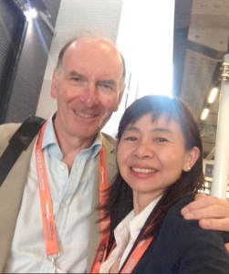Soo and Nigel H IOC 2015